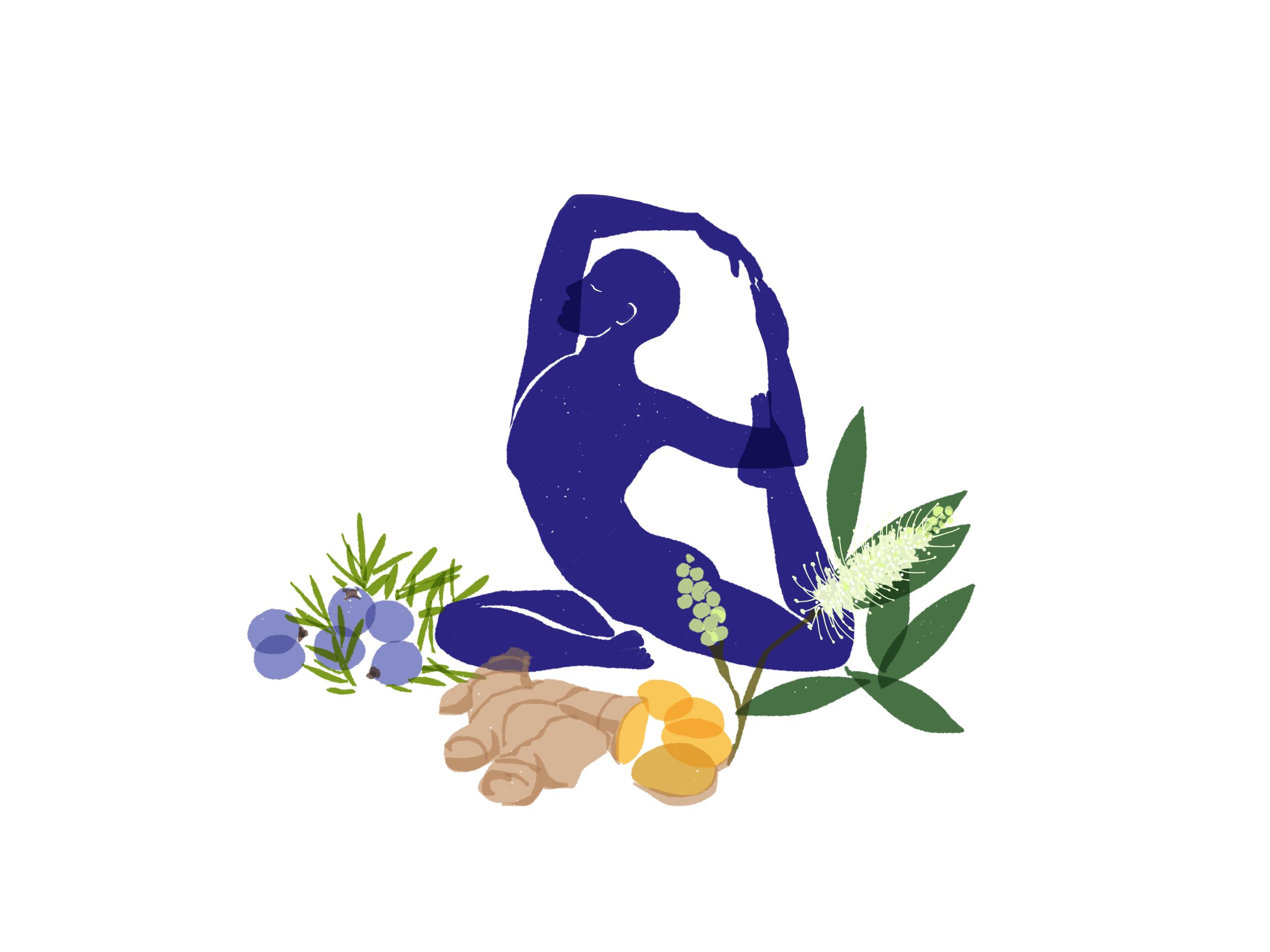 Yoga und Sport